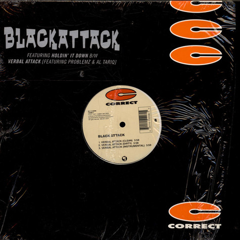 Black Attack - Holdin' It Down