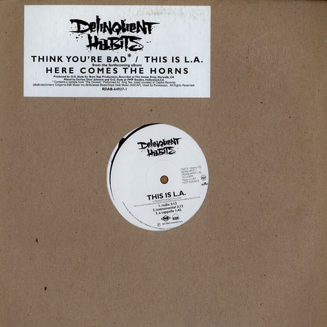Delinquent Habits - Think you're bad