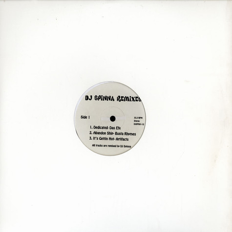 DJ Spinna - Remixes