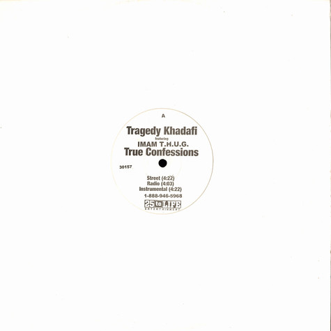 Tragedy Khadafi - True confessions