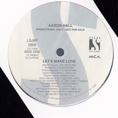 Aaron Hall - Let's make love