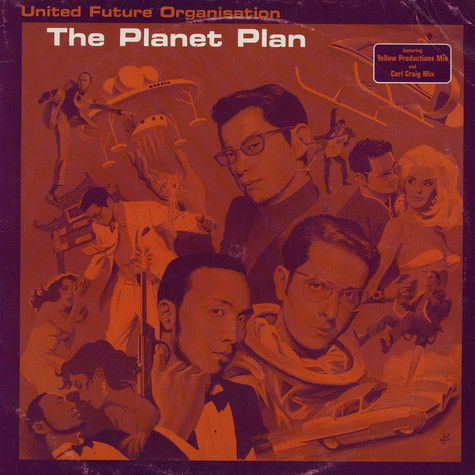 United Future Organization - The Planet Plan