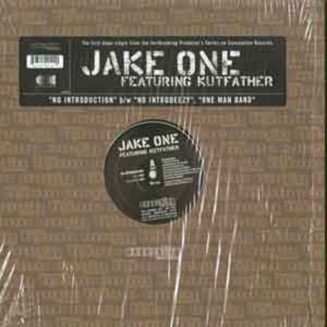 Jake One - No Introduction feat. Kutfather