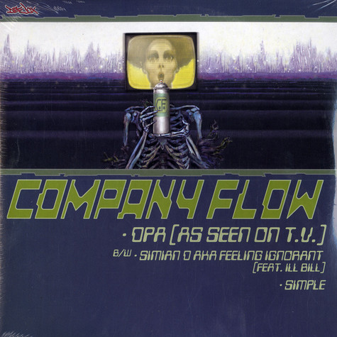 Cannibal Ox / Company Flow - Iron galaxy / opa (as seen on TV)