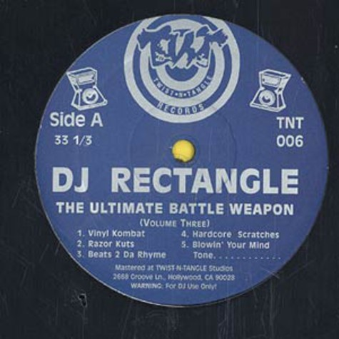 DJ Rectangle - Ultimate Battle Weapons Volume 3
