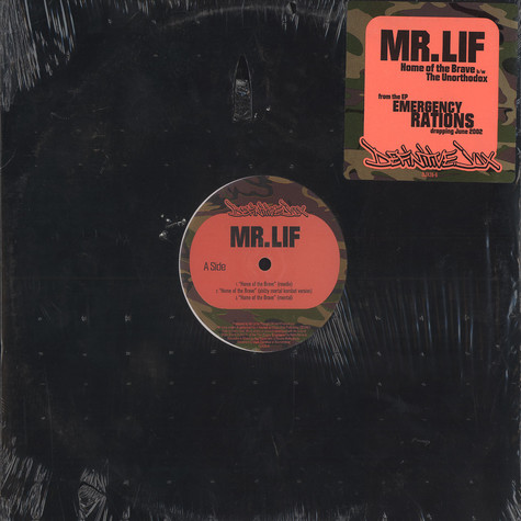 Mr.Lif - Home of the brave