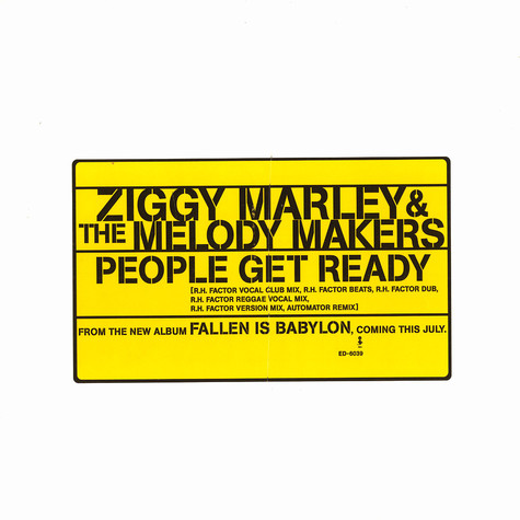 Ziggy Marley & The Melody Makers - People get ready