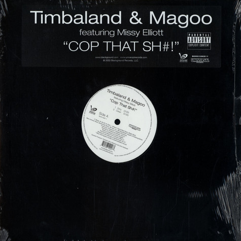 Timbaland & Magoo - Cop that shit feat. Missy Elliott
