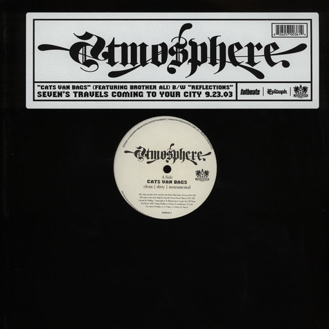 Atmosphere - Cats Van Bags Feat. Brother Ali
