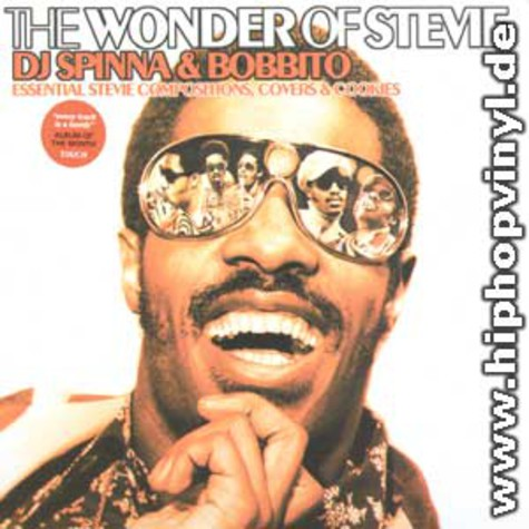 Stevie Wonder - Spinna & Bobbito presents The Wonder Of Stevie