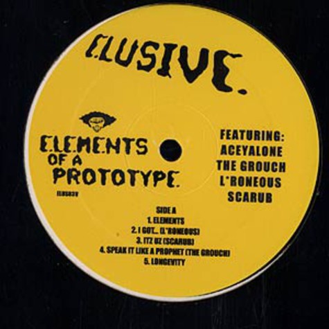 Elusive - Elements of a prototype