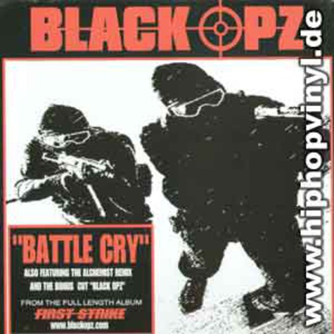 Black Opz - Battle cry