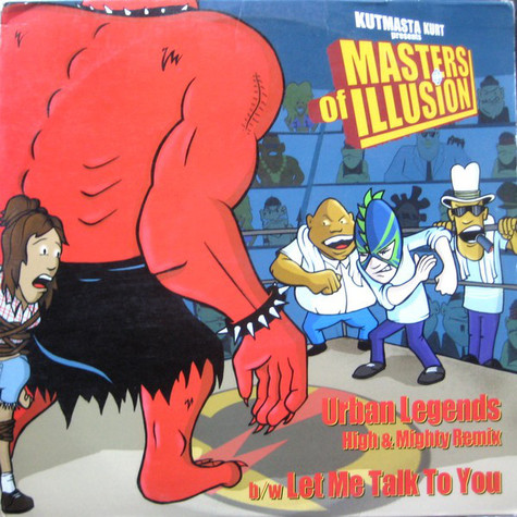 Masters Of Illusion - Let me talk to you High & Mighty remix