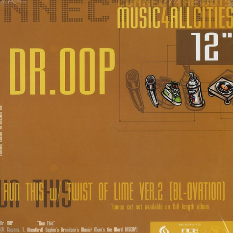 Dr.Oop / Mykill Miers - Run this / bring it on