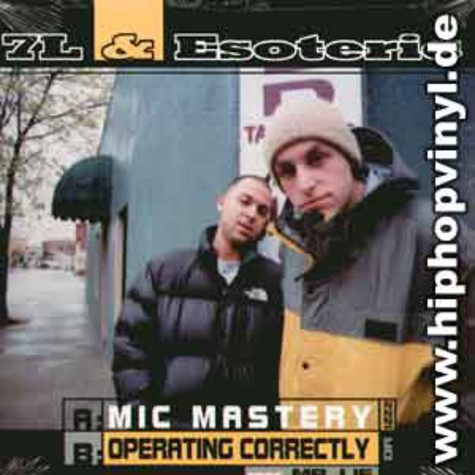 7L & Esoteric - Mic Mastery