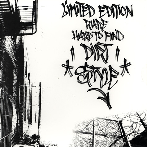 DJ Qbert - Limited Edition Hard To Find Dirtstyle
