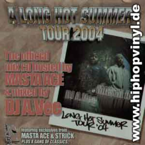 DJ A.Vee & Masta Ace - A long hot summer mix