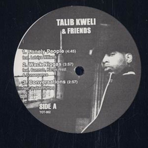 Talib Kweli - And friends EP