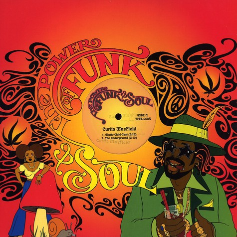 Power Of Funk & Soul, The - Volume 2 - Curtis Mayfield Instrumentals