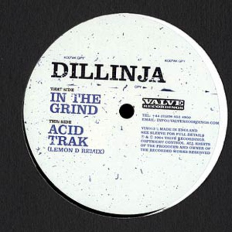 Dillinja - In the grind