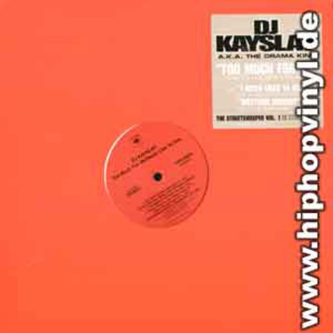 DJ Kay Slay - Too much for me remix