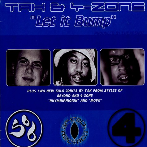 Tak & 4-Zone - Let it bump