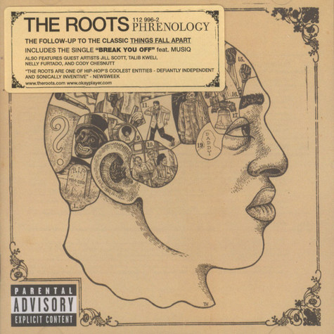 Roots The Phrenology Cd 2002 Eu Original Hhv