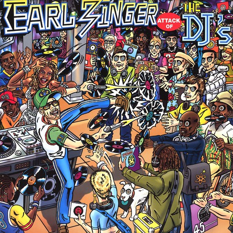 Earl Zinger - Attack of the DJ's