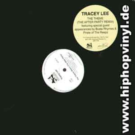 Tracey Lee - The theme (the afterparty remix)