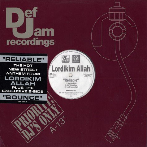Lordikim Allah - Reliable