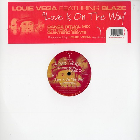 Louie Vega - Love is on the way remixes