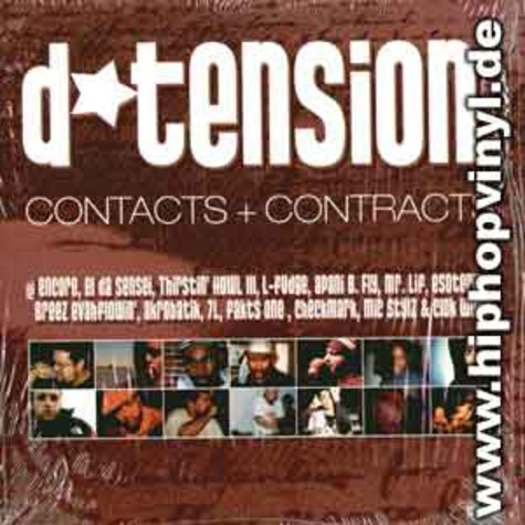 D-Tension - Contacts & contracts