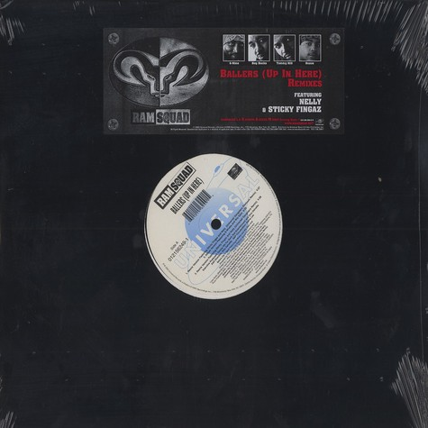 Ram Squad - Ballers (up in here) remixes feat. Nelly & Sticky Fingaz