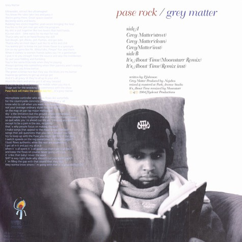 Pase Rock - Grey matter