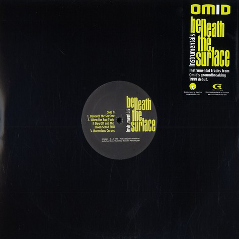 Omid - Beneath the surface instrumentals