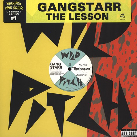 Gang Starr - The lesson
