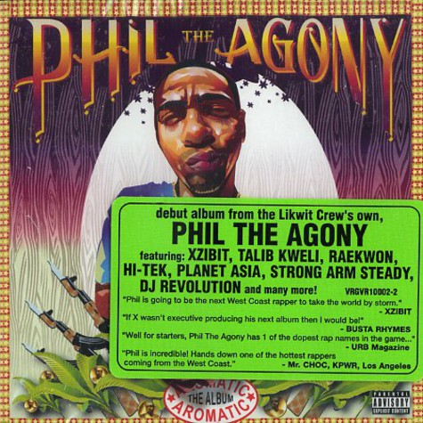 Phil The Agony - Aromatic - the album