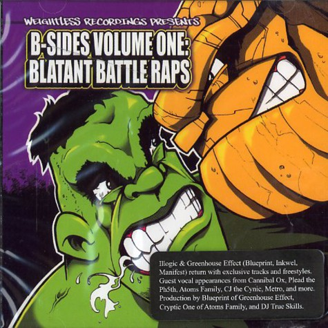 Weightless Recordings presents: - B-sides vol.1 - blatant battle raps
