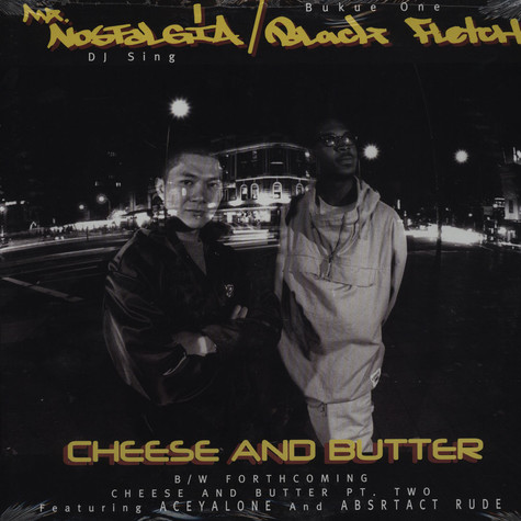 DJ Sing & Bukue One - Cheese and butter