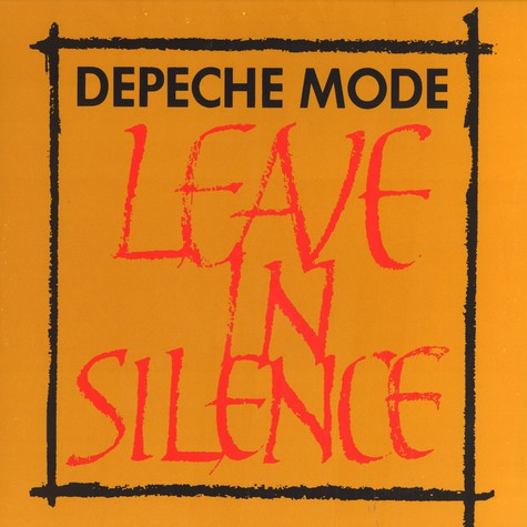 Depeche Mode - Leave in silence