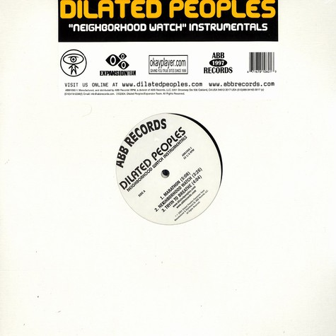 Dilated Peoples - Neighborhood Watch Instrumentals