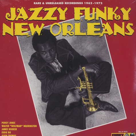 V.A. - Jazzy funky new orleans