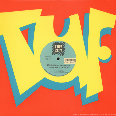 Cold Crush Brothers / Super Three Mc's - Fresh wild fly & bold / phisolophy rappin spree
