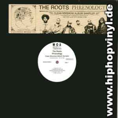 Roots, The - Phrenology album sampler