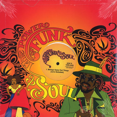 Power Of Funk & Soul, The - Volume 8 - Barry White instrumentals
