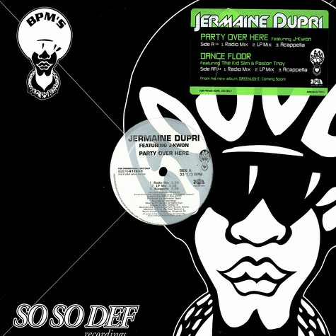 Jermaine Dupri - Party over here feat. J-Kwon