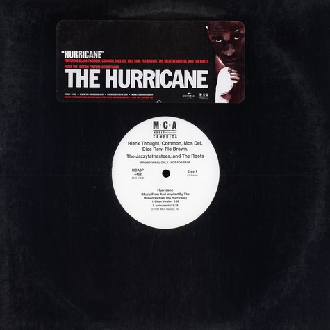 V.A. - Hurricane feat. Black Thought, Common, Mos Def, Jazzyfatnastees & The Roots