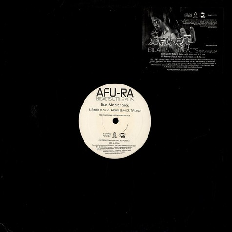 Afu-Ra - Bigacts little acts feat. GZA