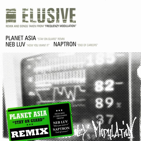 Planet Asia / Elusive - Stay On Guard Remix