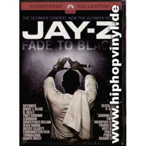 Jay-Z - Fade to black - the DVD